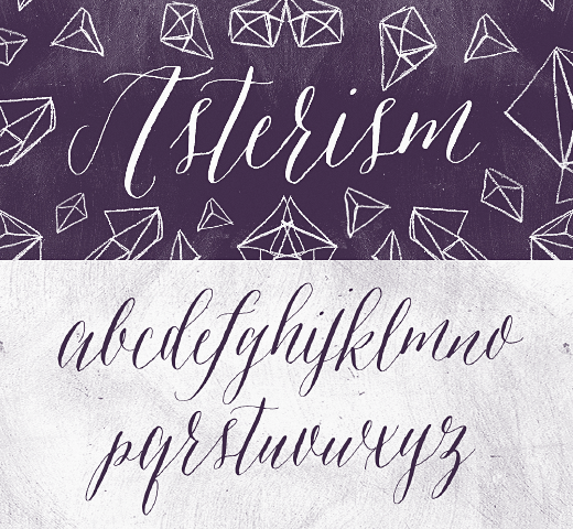 asterism 20 of the most beautiful typefaces released last month