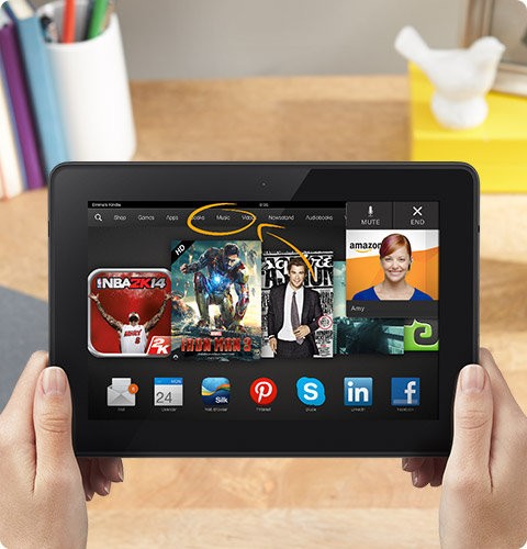 Amazon Announces the Kindle Fire HDX