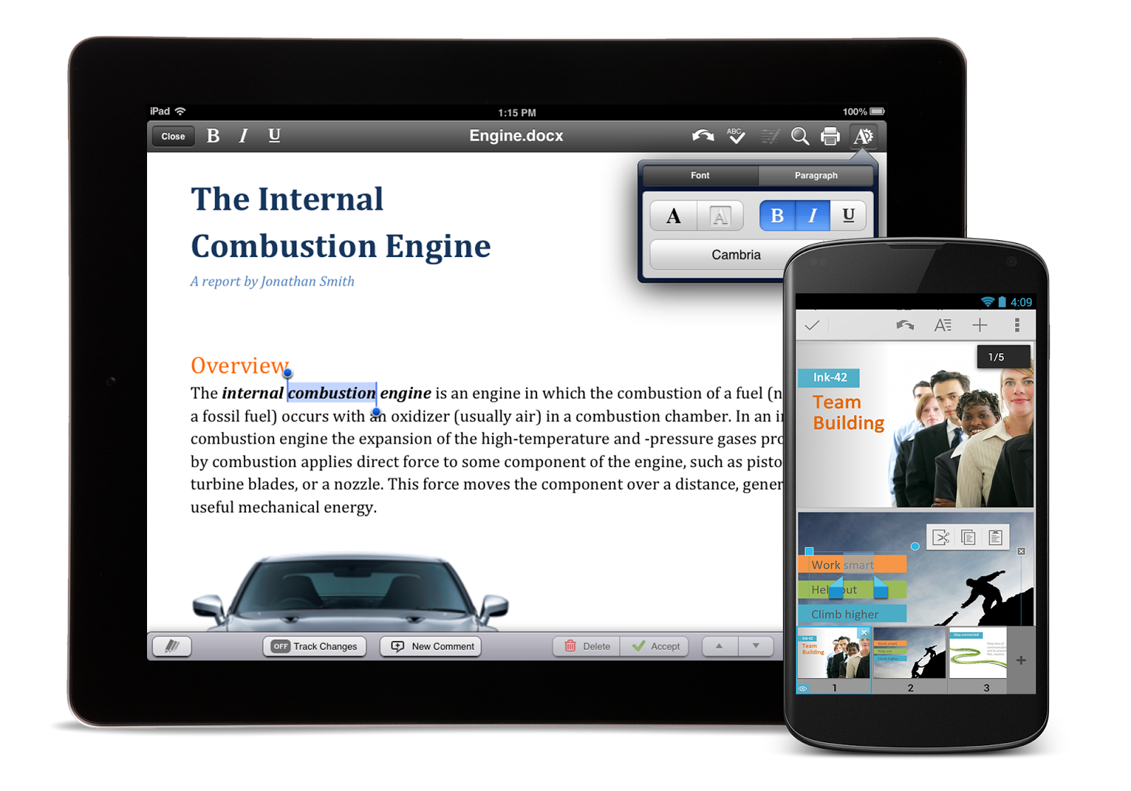 Quickoffice for ipad 3 free download.