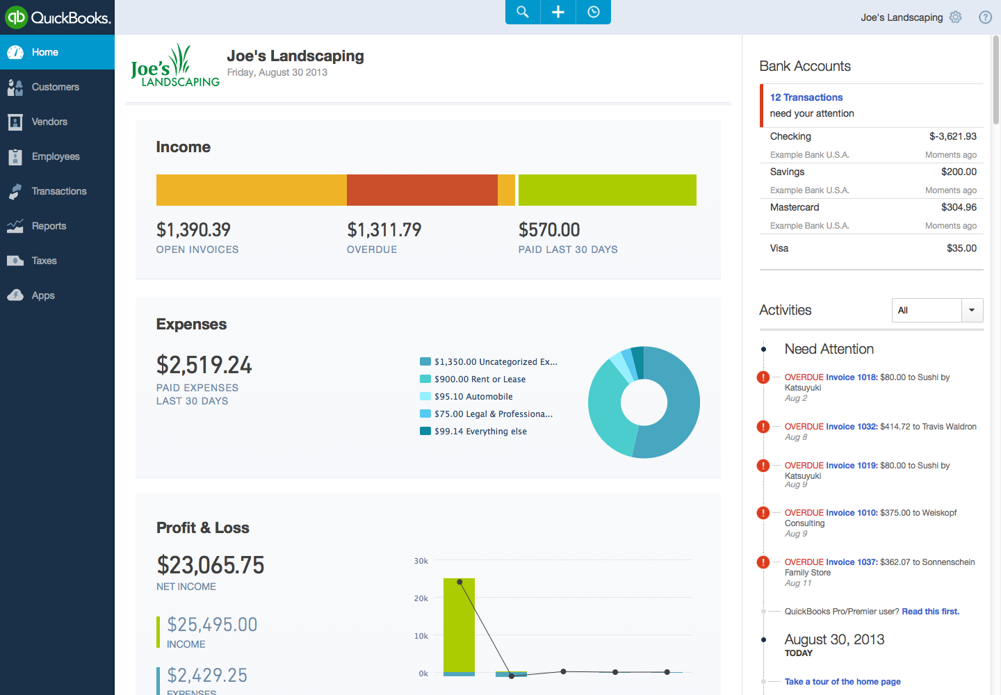 Intuit Reveals Refresh Of Quickbooks Online For The Web