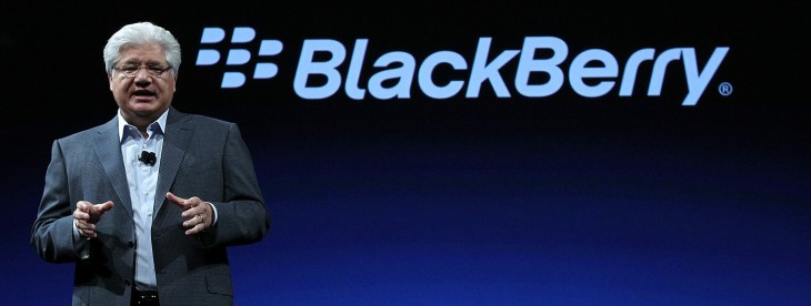 Another suitor for BlackBerry? Ex-Apple boss John Sculley is reportedly considering a bid