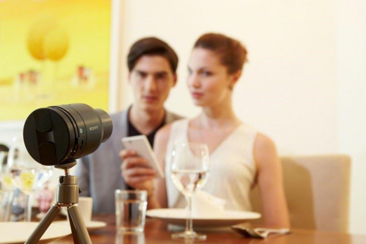 Sony's QX10 and QX100 lens cameras turn your iOS or Android device into a premium point-and-shoot ...