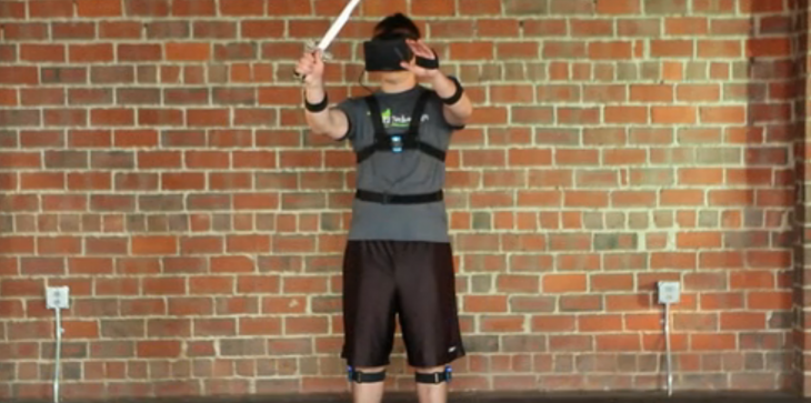 The PrioVR sensor suit will track your whole body in virtual reality