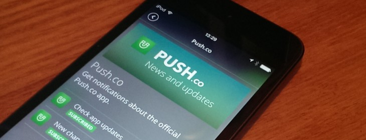 Push.co: A new smart, social take on push notifications