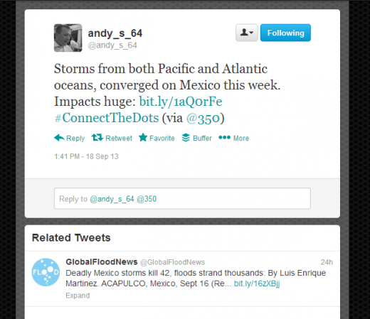 related tweets2 520x449 Twitter is testing a new Related Tweets feature on the Web