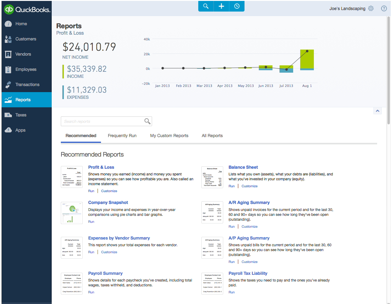 Intuit Reveals Refresh Of QuickBooks Online For The Web - Quickbooks online invoicing