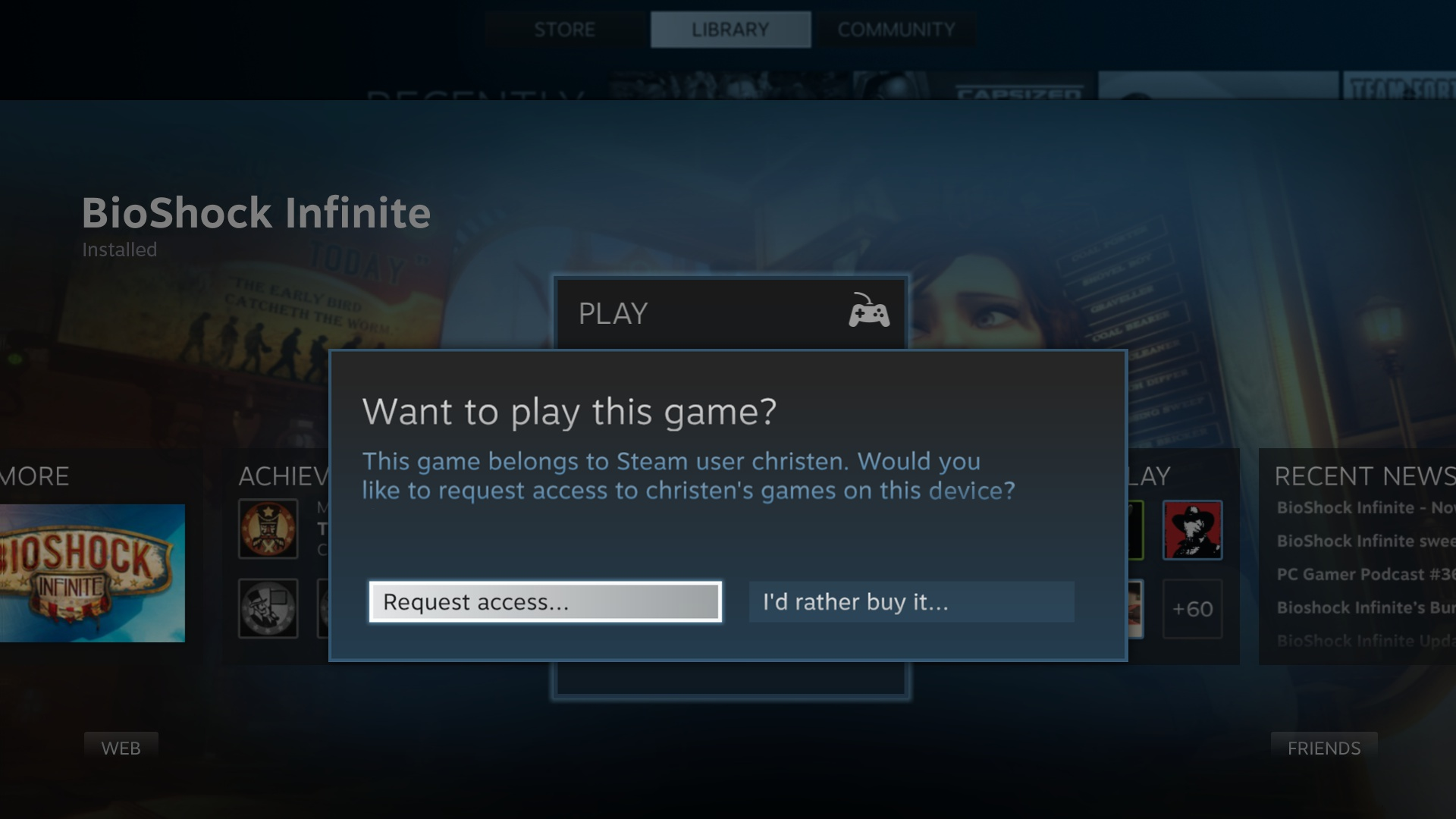 how to play in steam