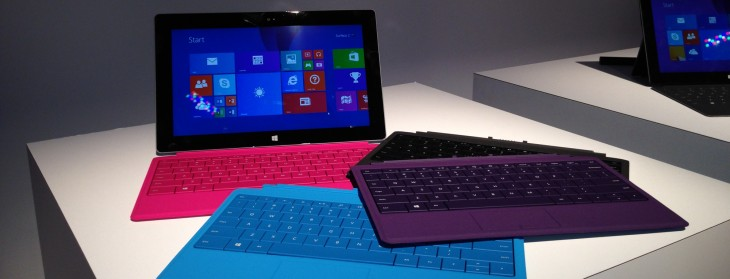 Hands on with the Microsoft Surface 2 and Surface Pro 2