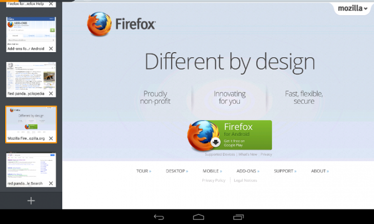 Firefox Beta for Android Has Guest Browsing Mode