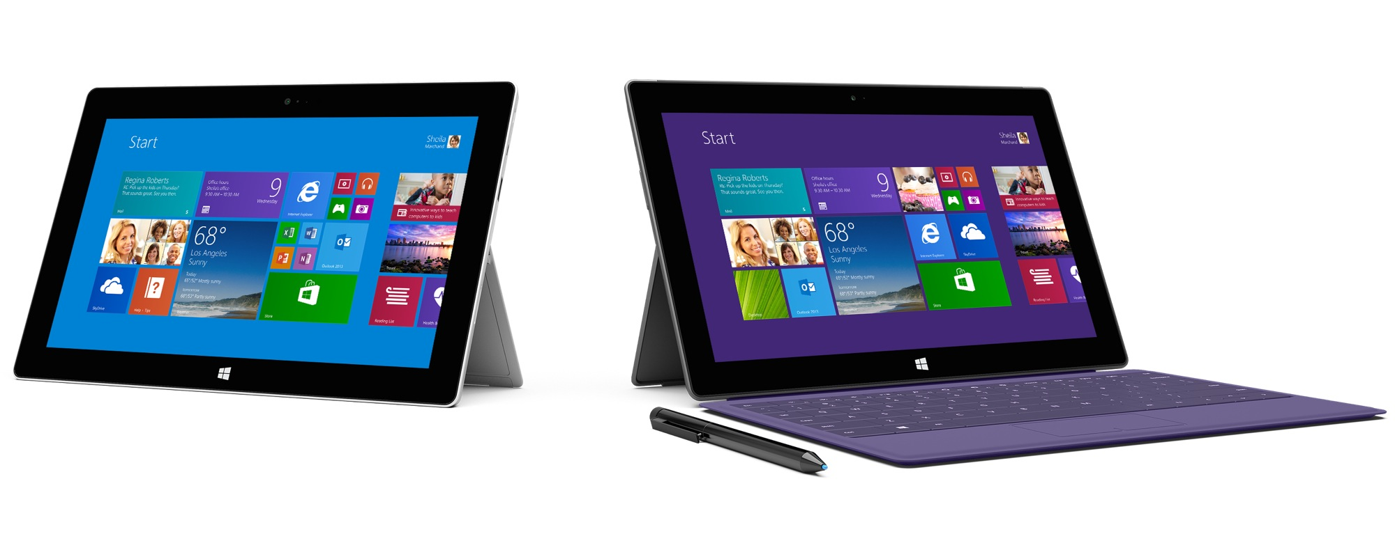Microsoft reveals new surface 2 and surface pro 2 tablets for Latest windows for pc