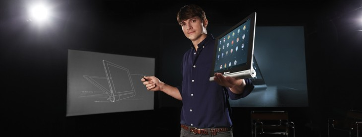 Lenovo's Yoga Tablet is an Android-powered multimode device with an apparent 18 hour battery life ...