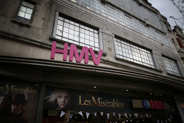 HMV relaunches its digital music service with a new iOS and Android app in the UK