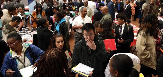 Job Seekers Attend Career Fair In San Francisco