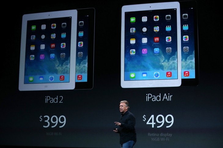 iPad Air will ship on November 1 in 41 countries, iPad mini with Retina coming later in November