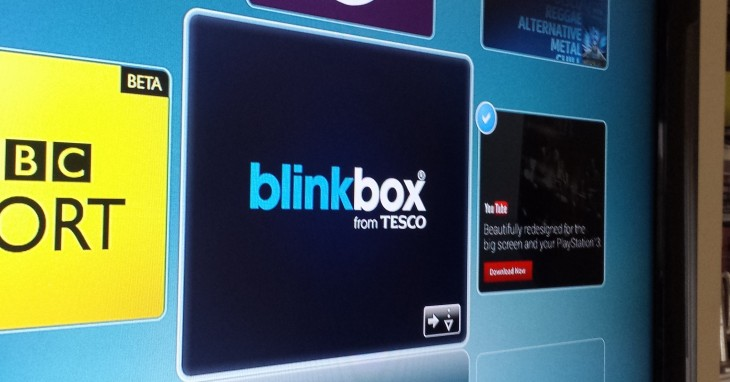 Tesco takes movie-streaming service Blinkbox to UK PS3 users with a new app