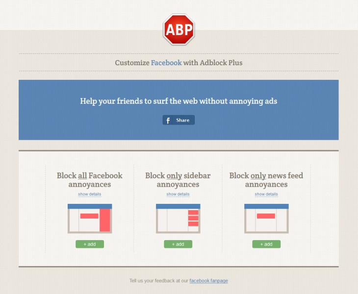262 730x600 Not just ads: Adblock Plus now lets you block 21 other annoyances in Facebooks News Feed and sidebar
