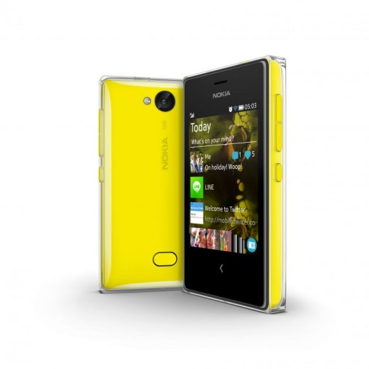 700 nokia asha 503 yellow 520x520 Nokia announces Asha 500 for $69, Asha 502 for $89, and Asha 503 for $99
