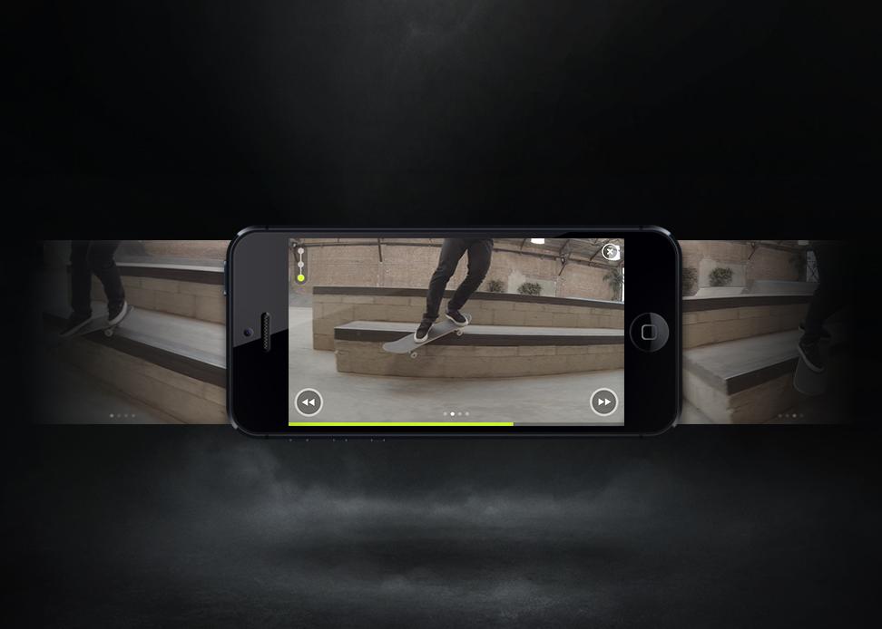 Nike SB iOS app Helps Skateboarders Learn Tricks and Play S.K.A.T.E