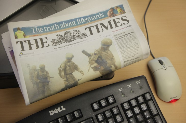 News Corp-owned The Times newspaper pulling BlackBerry apps from market due to 'lack of interest' ...