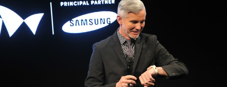 Legendary film director Baz Luhrmann explains why he's 'sold' on the Galaxy Gear smartwatch ...