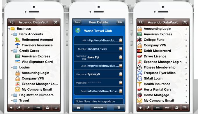 DataVault for iOS