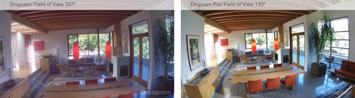 Left: $149 Dropcam | Right: $199 Dropcam Pro