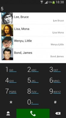 With T9 search and speed dial, ExDialer is quite possibly the best dialer and contacts app on the Android platform.