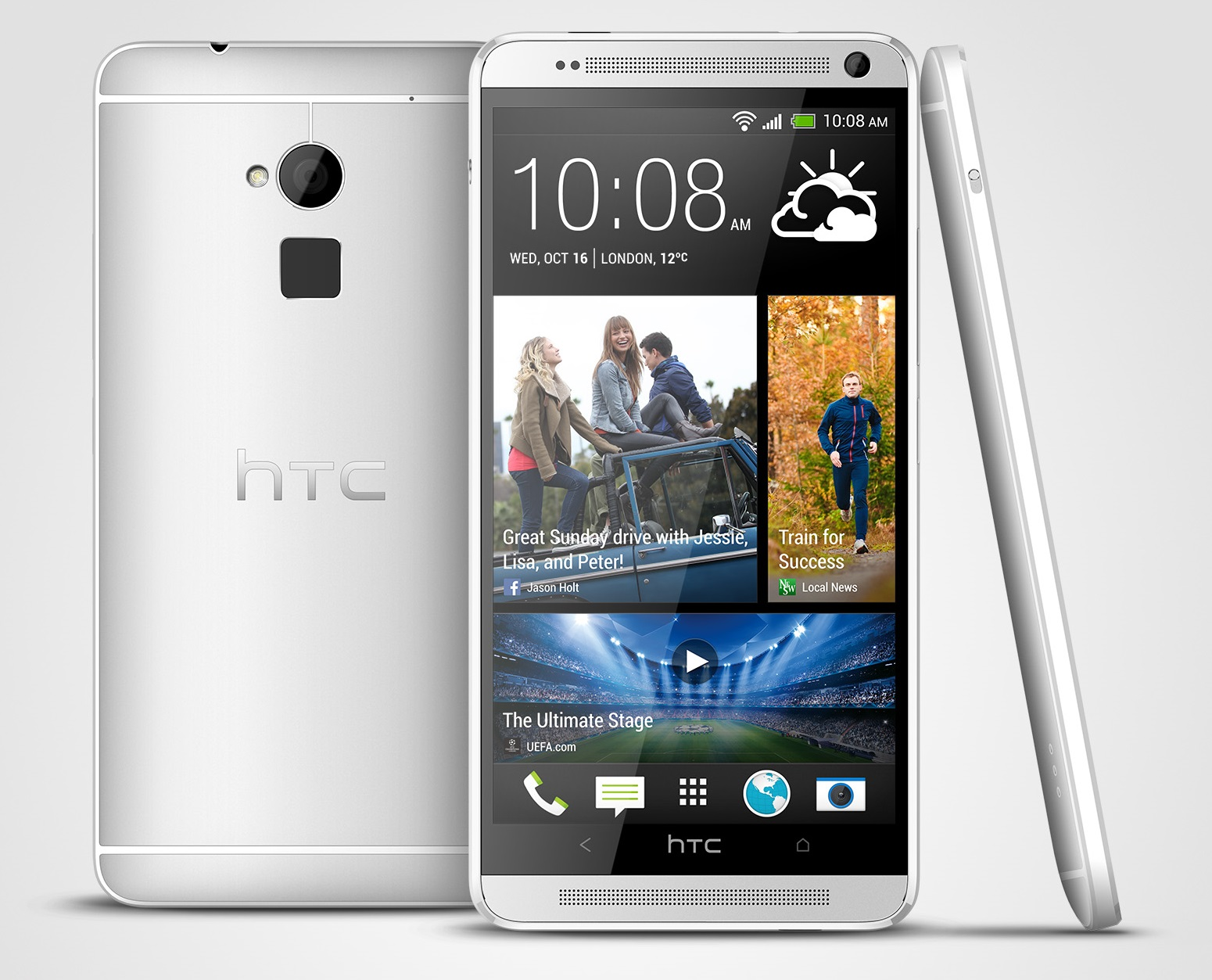 More Images of The HTC One Max Confirm The Fingerprint Sensor