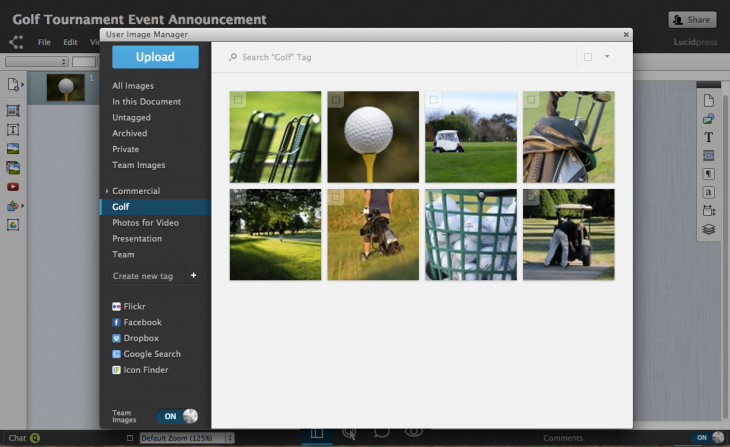 Image Management Hero 730x447 Lucid Software brings the power of desktop publishing to the Web with Lucidpress, now in beta