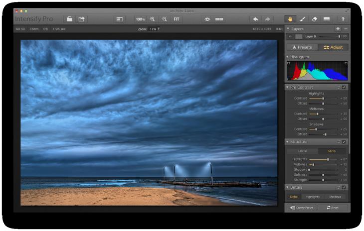 Intensify - Rock Pool Adjust screenshot