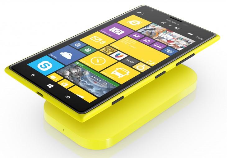Lumia 1520 wireless charging