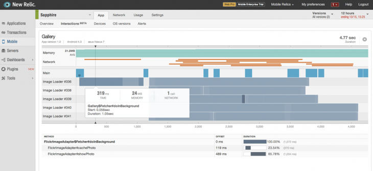 Mobile New Relic 730x336 App monitoring service New Relic unveils its vision for analytics, updates its mobile SDK and more