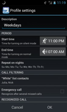 Nights Keeper will screen all but the most essential calls so you can get a good night's sleep.