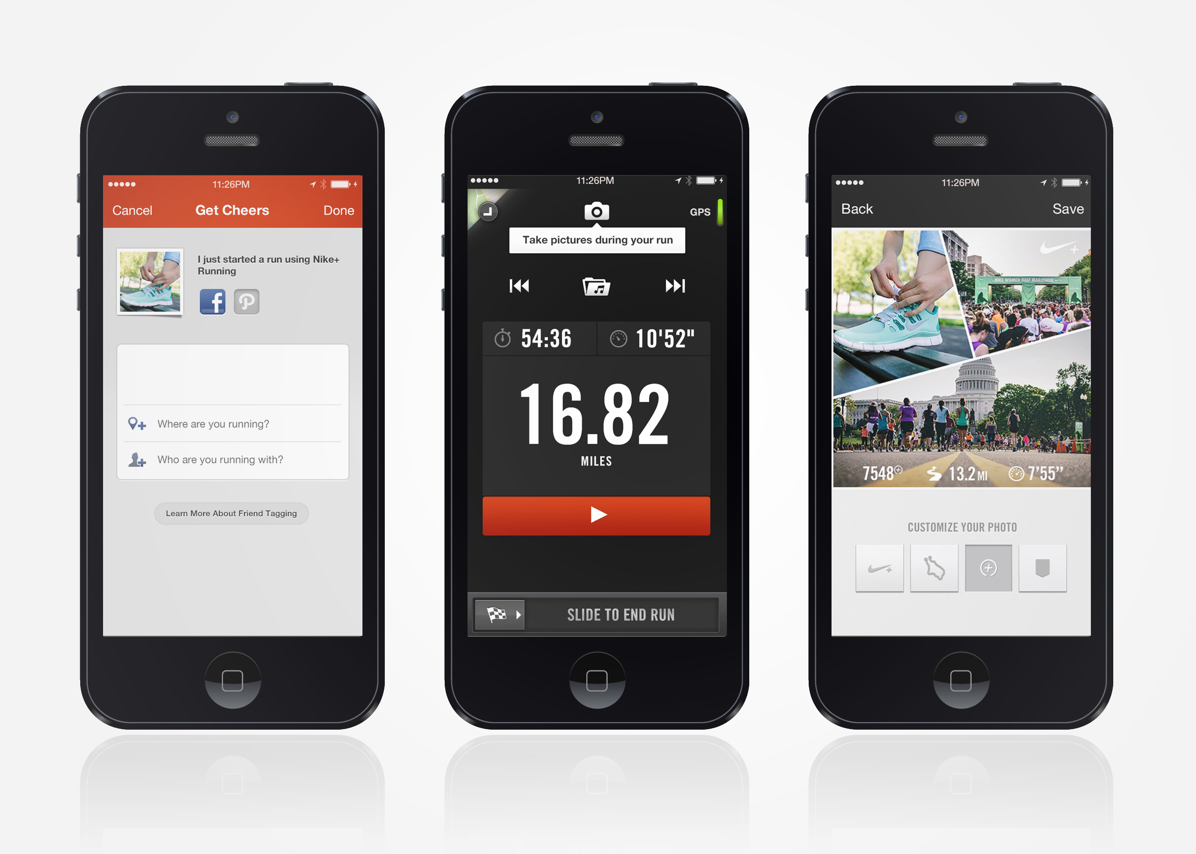 la meilleure attitude 00a94 f6120 Nike Adds Photo Sharing, Auto-Pause Ability To Nike+ Running ...
