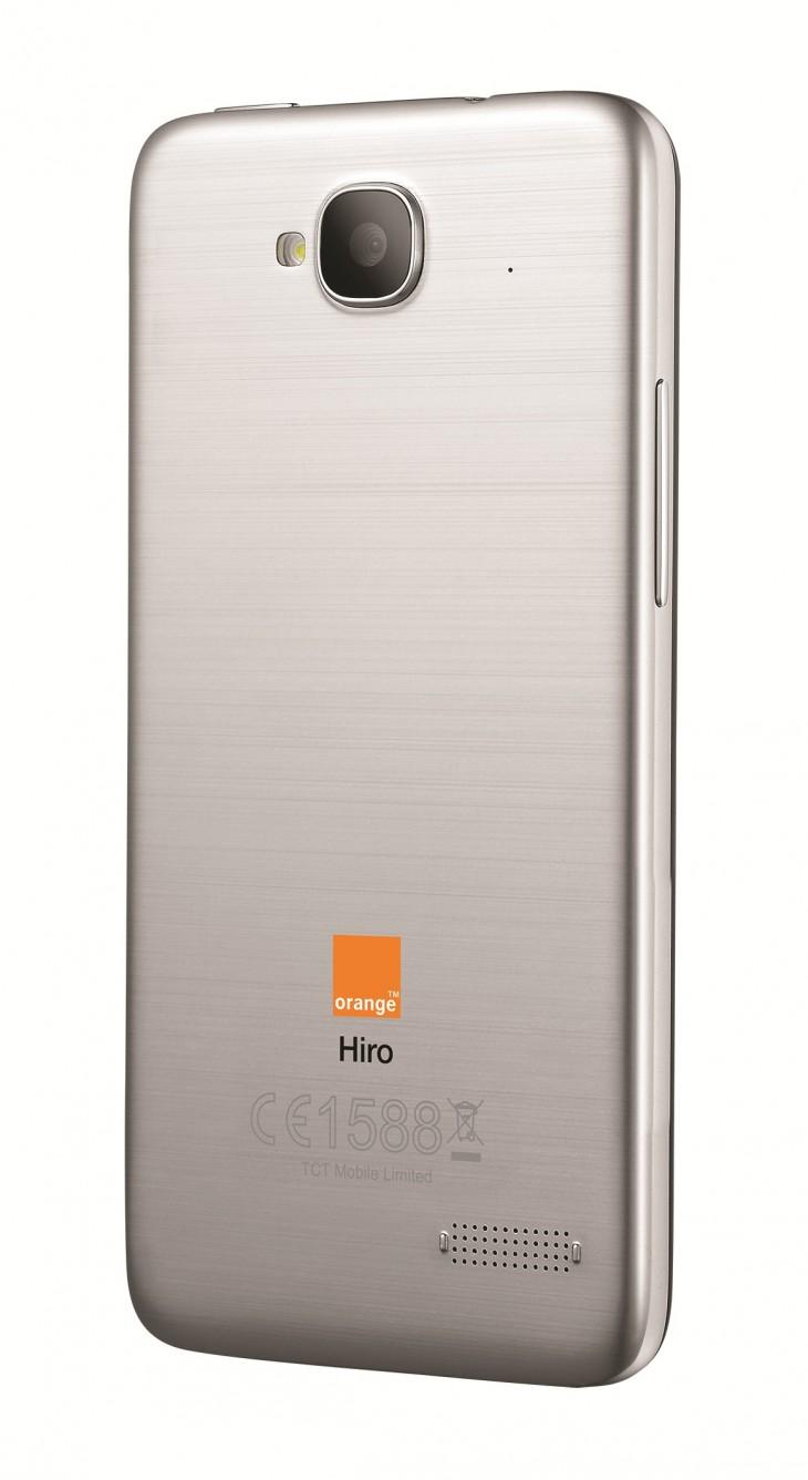 Orange Hiro Back