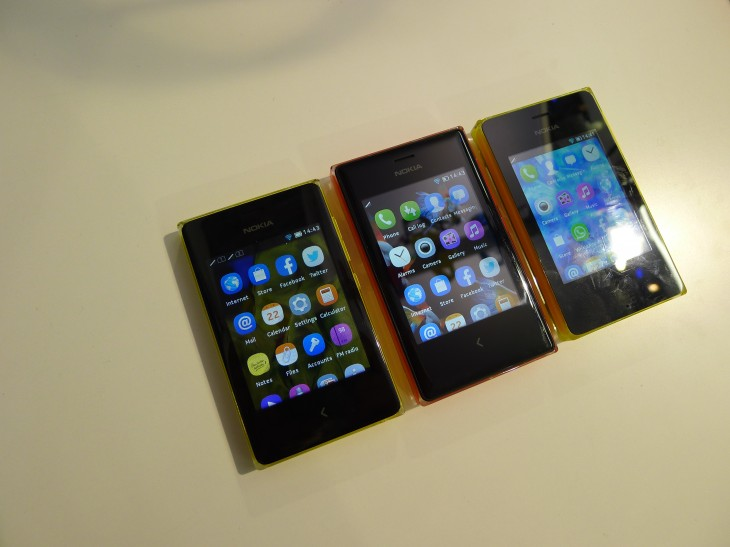 Nokia Asha 500, 502 and 503 hands-on: Colorful budget handsets for the revamped Series 40 platform