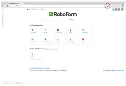 RoboForm Chrome