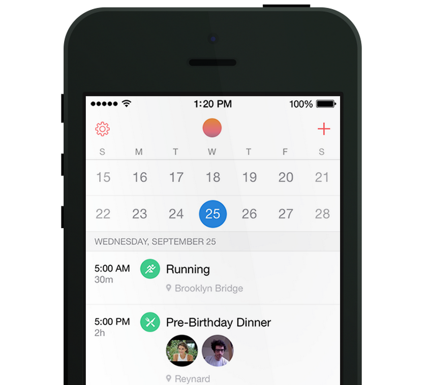 Calendar App : Sunrise now supports icloud calendars gets a new look for