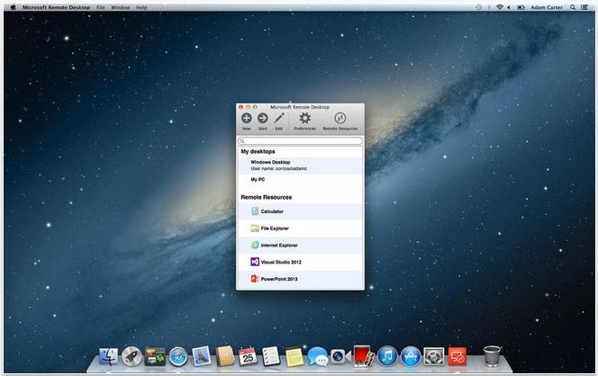 desktop for mac os x