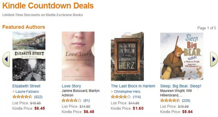 Screenshot 111 730x391 Amazons Kindle Countdown Deals makes it easy to sell your ebooks for a limited time discount