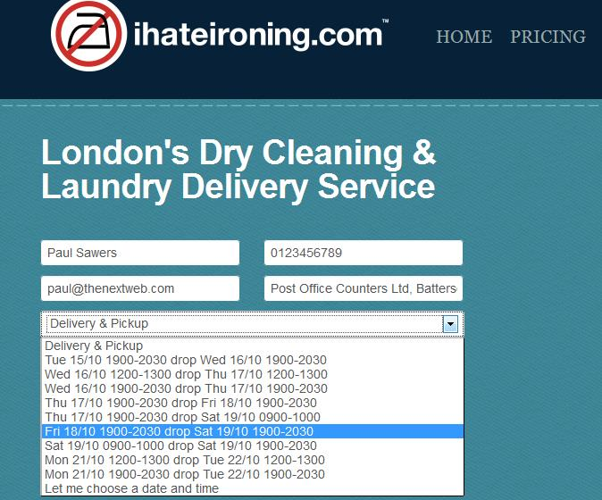 Screenshot 13 If you hate ironing, youll love this startup