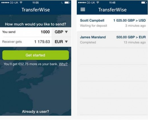 Screenshot 17 520x425 TransferWise for iOS lets you transfer money to friends and family anywhere in the world