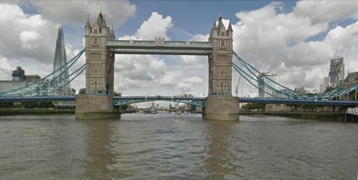 Google Street View hits the River Thames