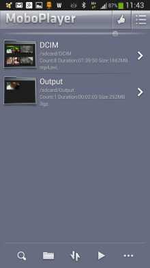 MoBoPlayer video player app Android