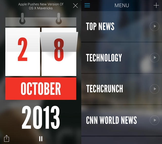 Wibbitz Text to video news app Wibbitz gets a slick redesign for iOS 7