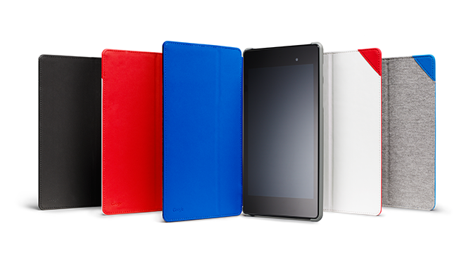 banner.image .n7 Nexus 7 (2013) Case now available in the US with a microsuede cover, built in stand, and four colors for $49.99