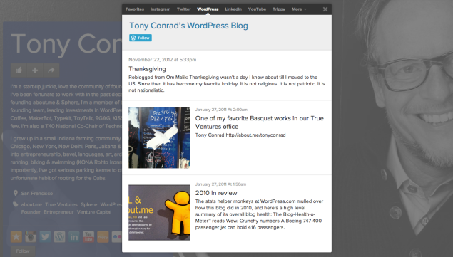 conrad about me follow button WordPress.com now lets you embed a Follow button anywhere on the Web