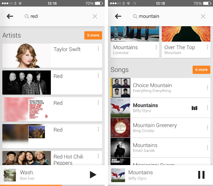google play music alternative client