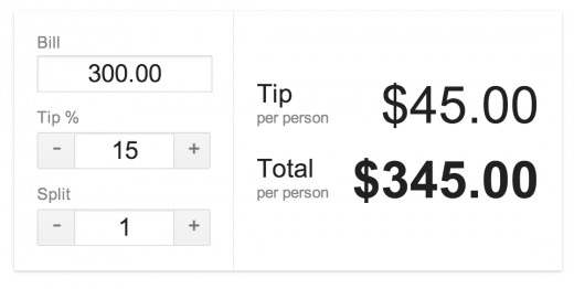 pro tip google search now includes a tip calculator