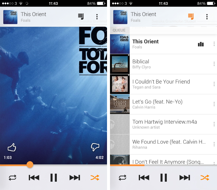 gplusmusic3 An in depth guide to Google Play Music All Access
